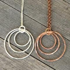 hoop pendants