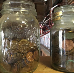 Upcycled Copper and coins2